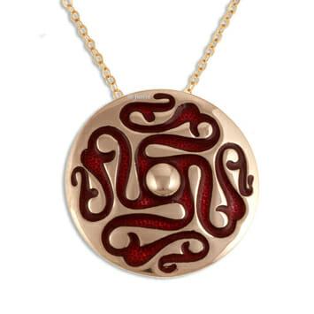 Whirligig pendant