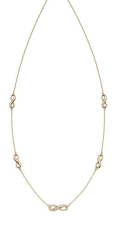 Infinity Station Necklace
