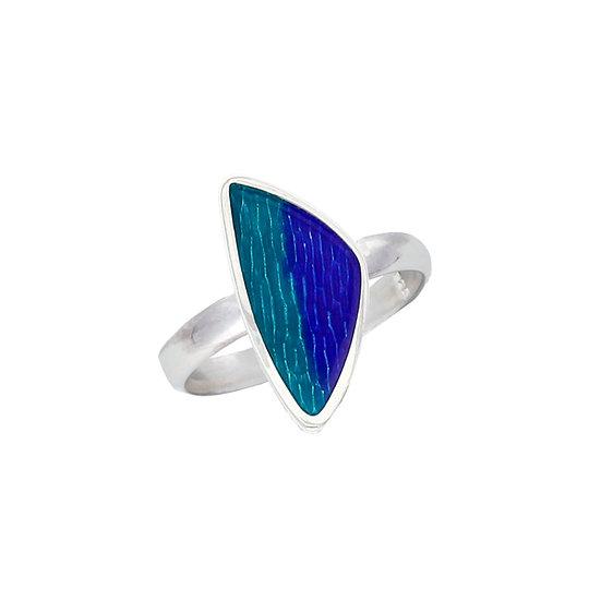 Silver Glas Mor Carrick ring