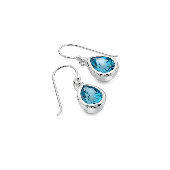 Ocean Droplet Earrings, studs or drops