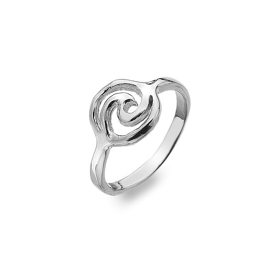 Wave in Circle Ring
