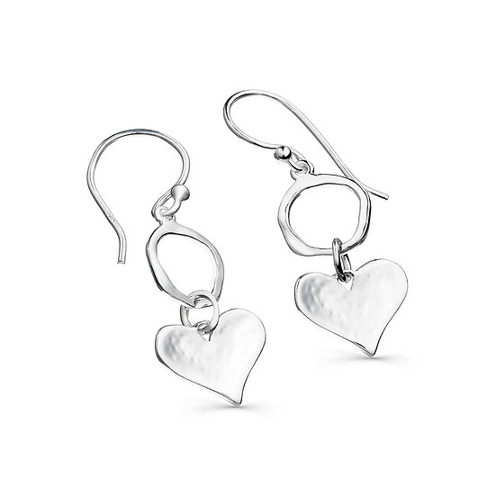 Cornish Heart earrings
