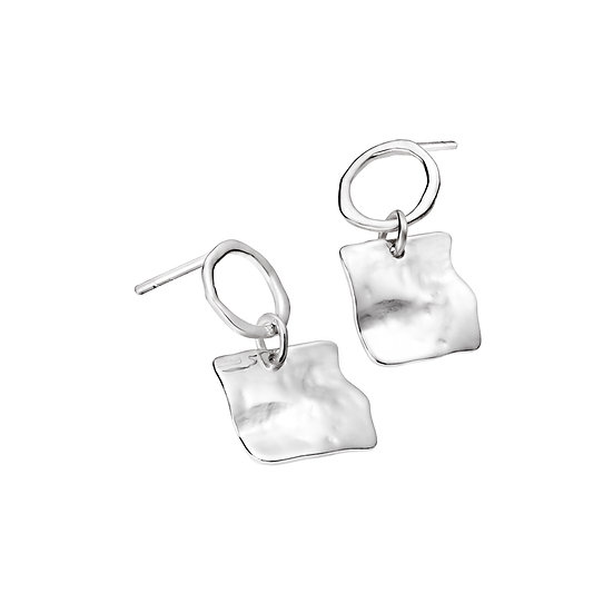 Sea and sky earrings