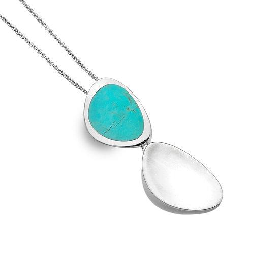 Rockpool Pendant, Turquoise or Paua Shell