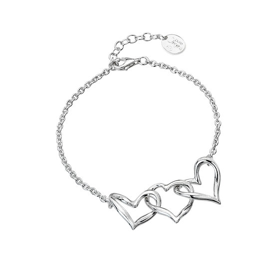 Three Hearts Bracelet