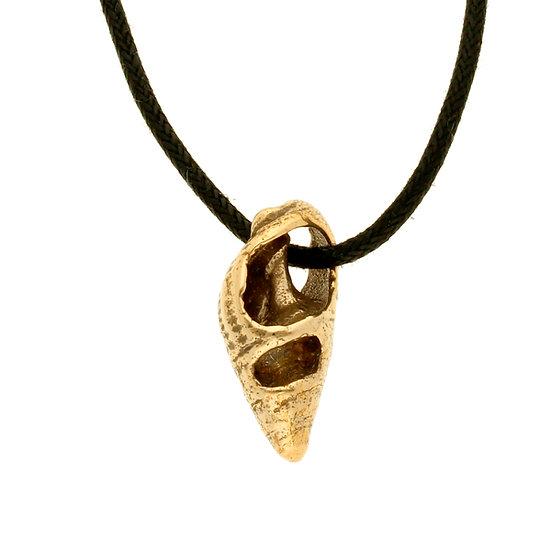 Bronze Marazion shell pendant