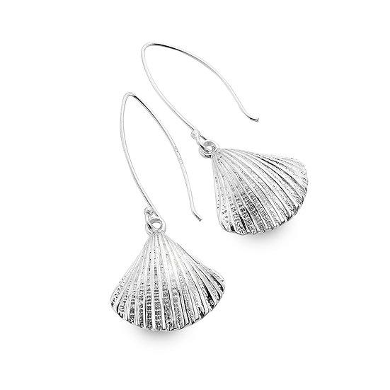 Ocean Dream Scallop Shell earrings, studs or drops