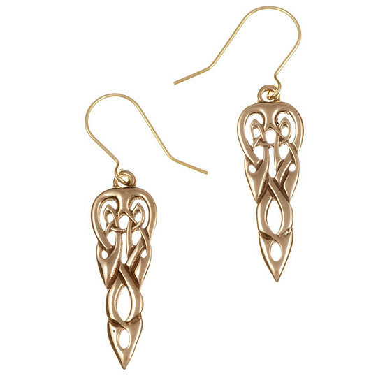 Merlin's Spear drop earrings