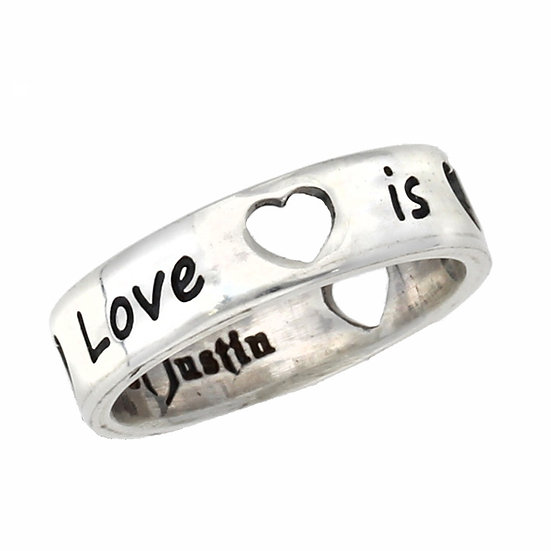 Love is all around Ring