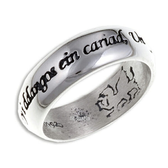 Welsh Love ring - Silver