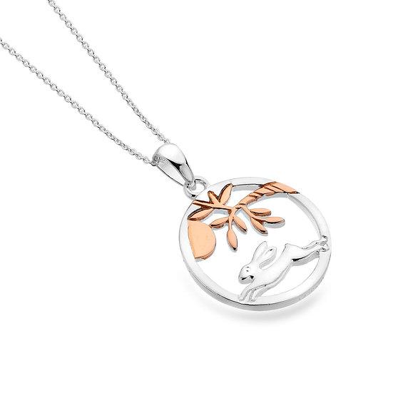 Moonlight Hare pendant
