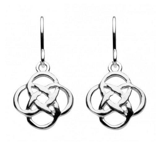 Celtic Mor Open Knot Earrings, studs or drops