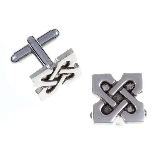 10th Anniversary X T-bar cufflinks