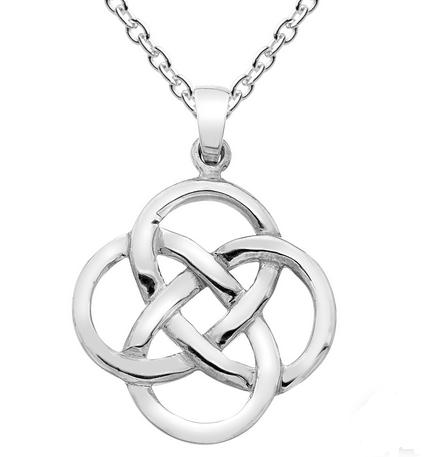 Celtic Mor Open Knot pendant, Large
