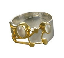 Hedgerow Ring with Moonstone