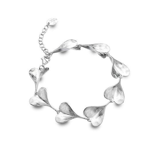Leaf Hearts Bracelet