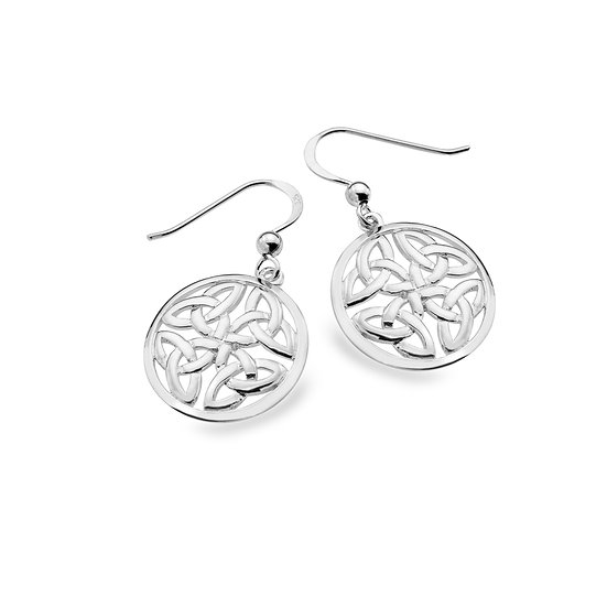 United Trinity Celtic Earrings