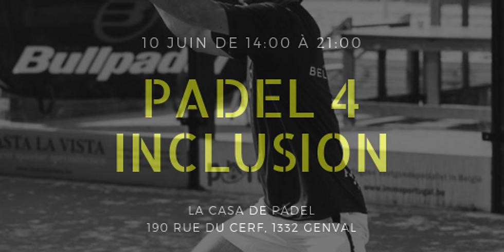 """Tournoi """"Padel 4 inclusion"""""""