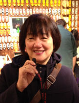 Qualified Chinese guide Susan Wang in Mu