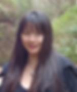 Chinese gids Gina Zeng tijdens dagtocht.