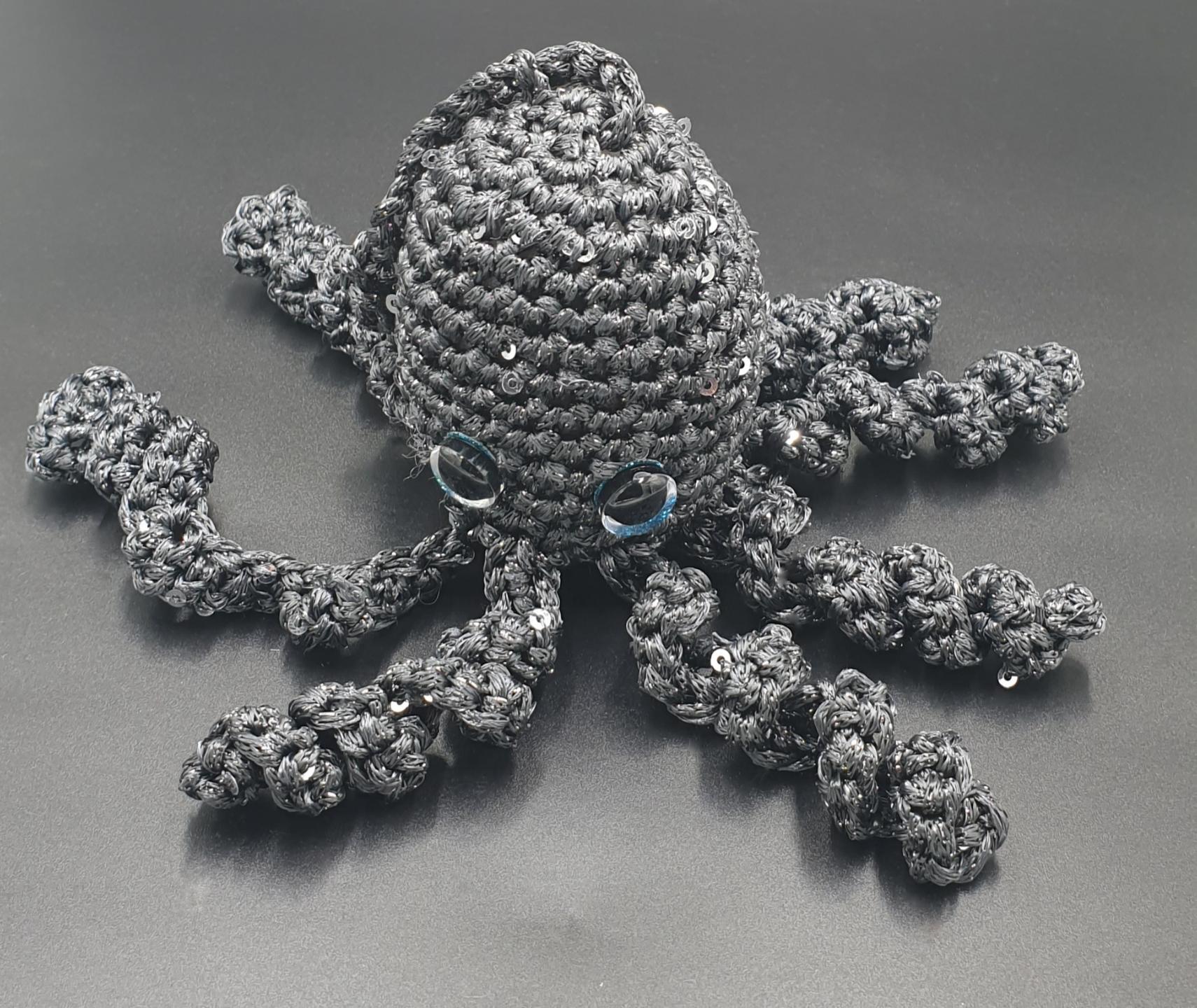 Octopus Handbag Charm