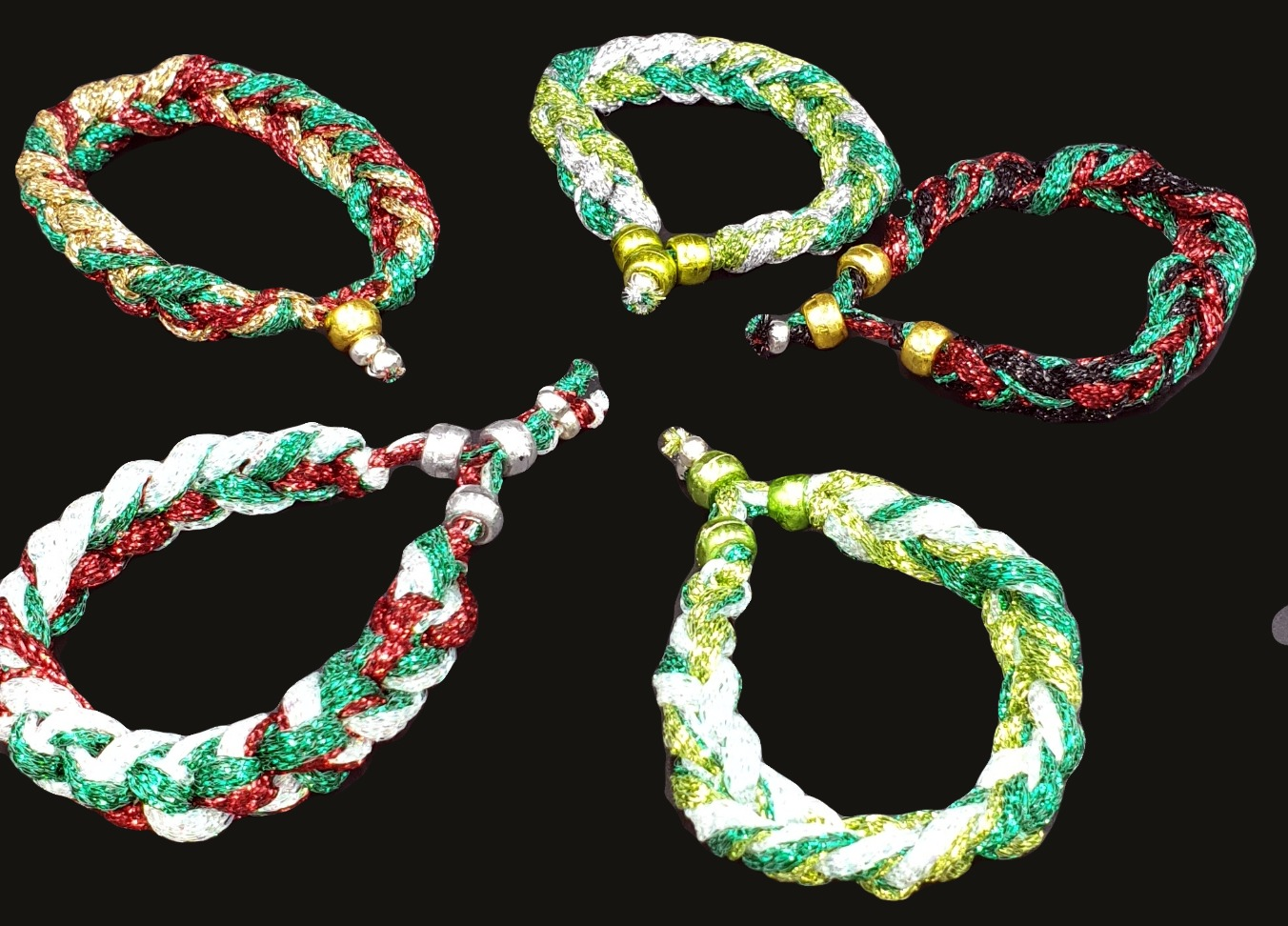 Lurex Rope Bracelet