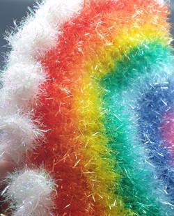 Rainbow Pasty Shower Sponge