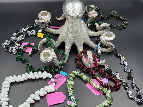 Curlique  Octopus Necklaces