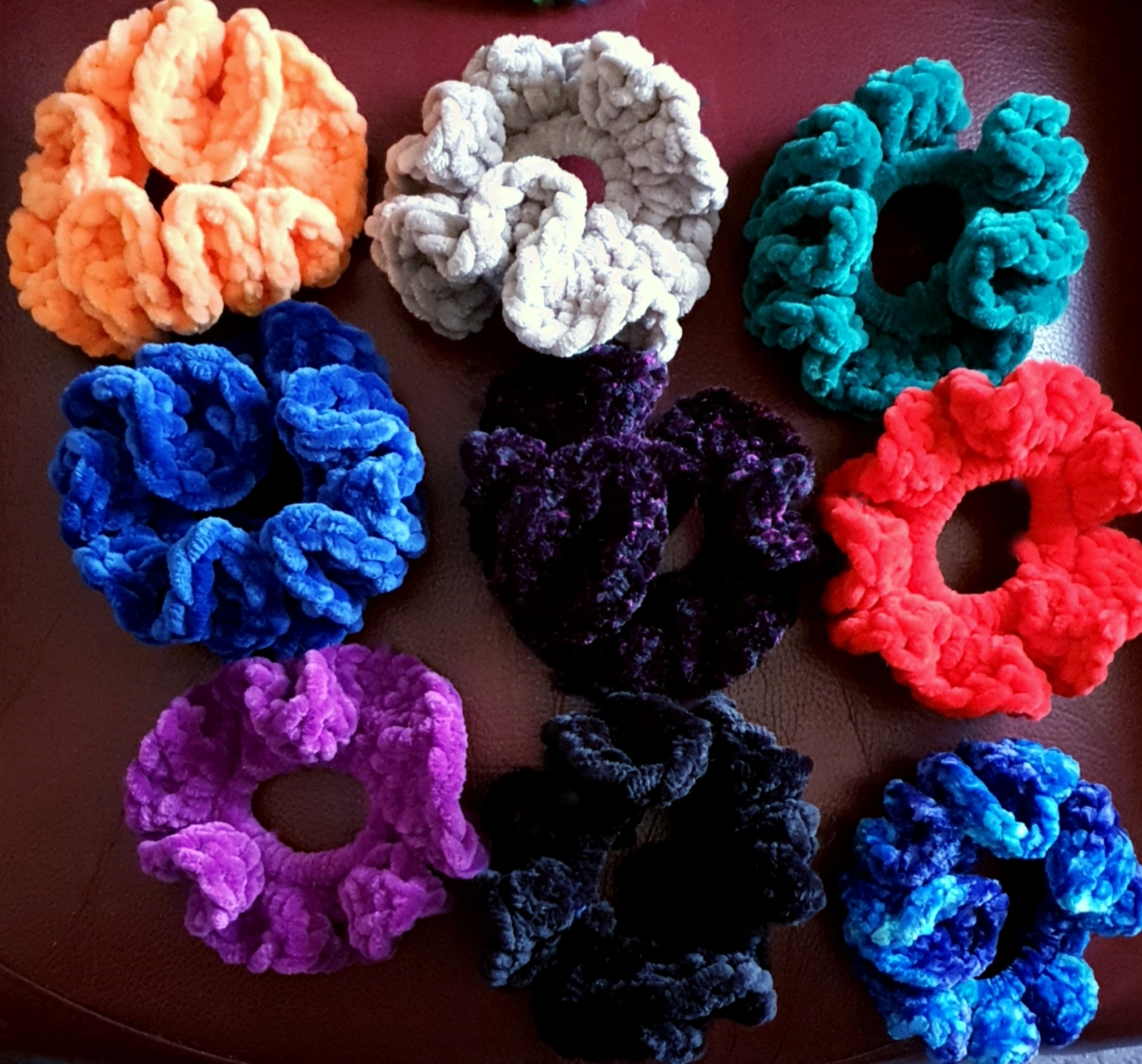 Craft Illusion Hair Scrunchie