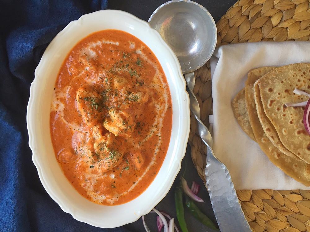 Butter chicken, chicken makhani