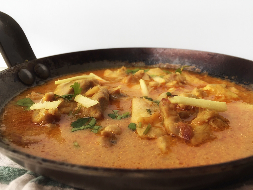 Adraki Murg, Ginger chicken, Aartisfoodologue