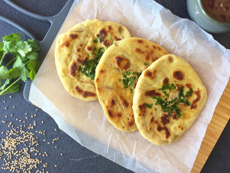 Mom's Easy Peasy Instant Naan (No yeast)