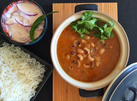 Black-Eyed Beans Curry (Lobia curry)