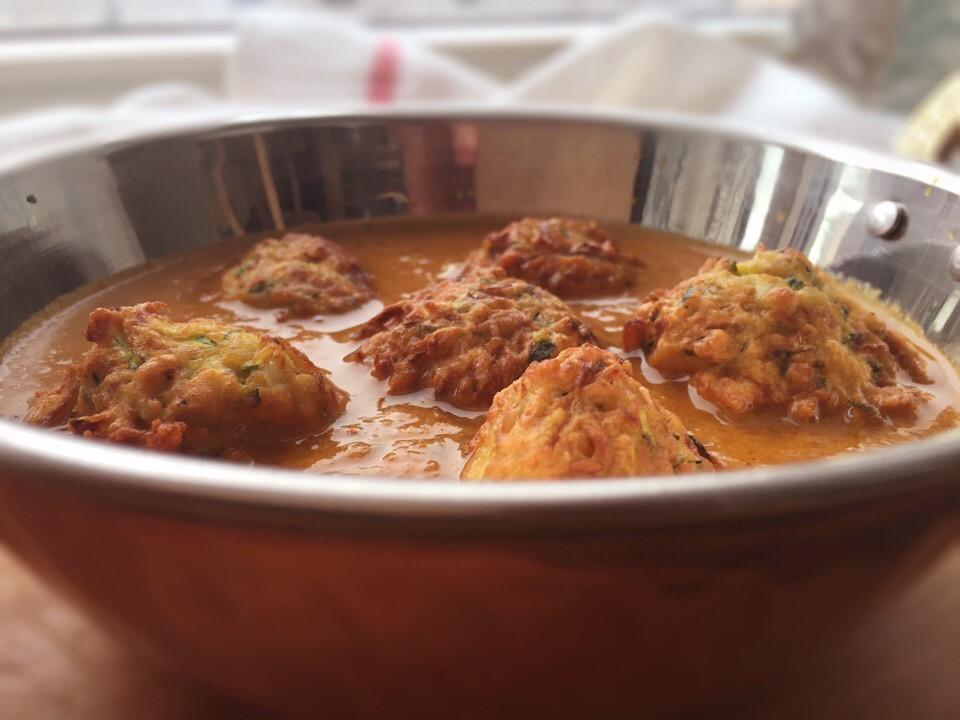 Zucchini Kofta Curry, aartisfoodologue