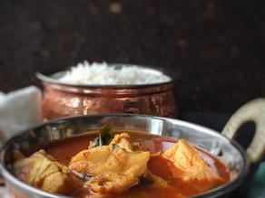 Super Quick Tomato Fish Curry