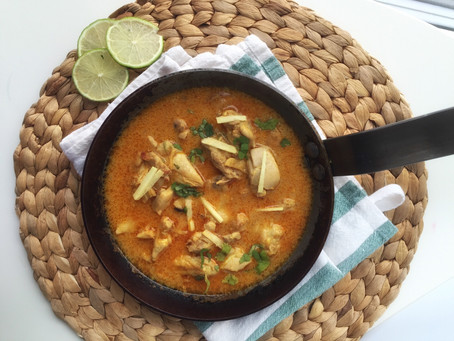 Adraki Murg (Ginger Chicken)