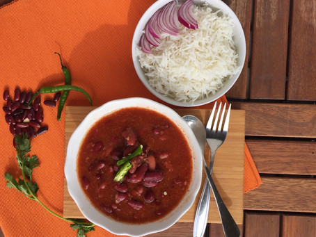 Rajma Masala (Indian Kidney Bean Curry)