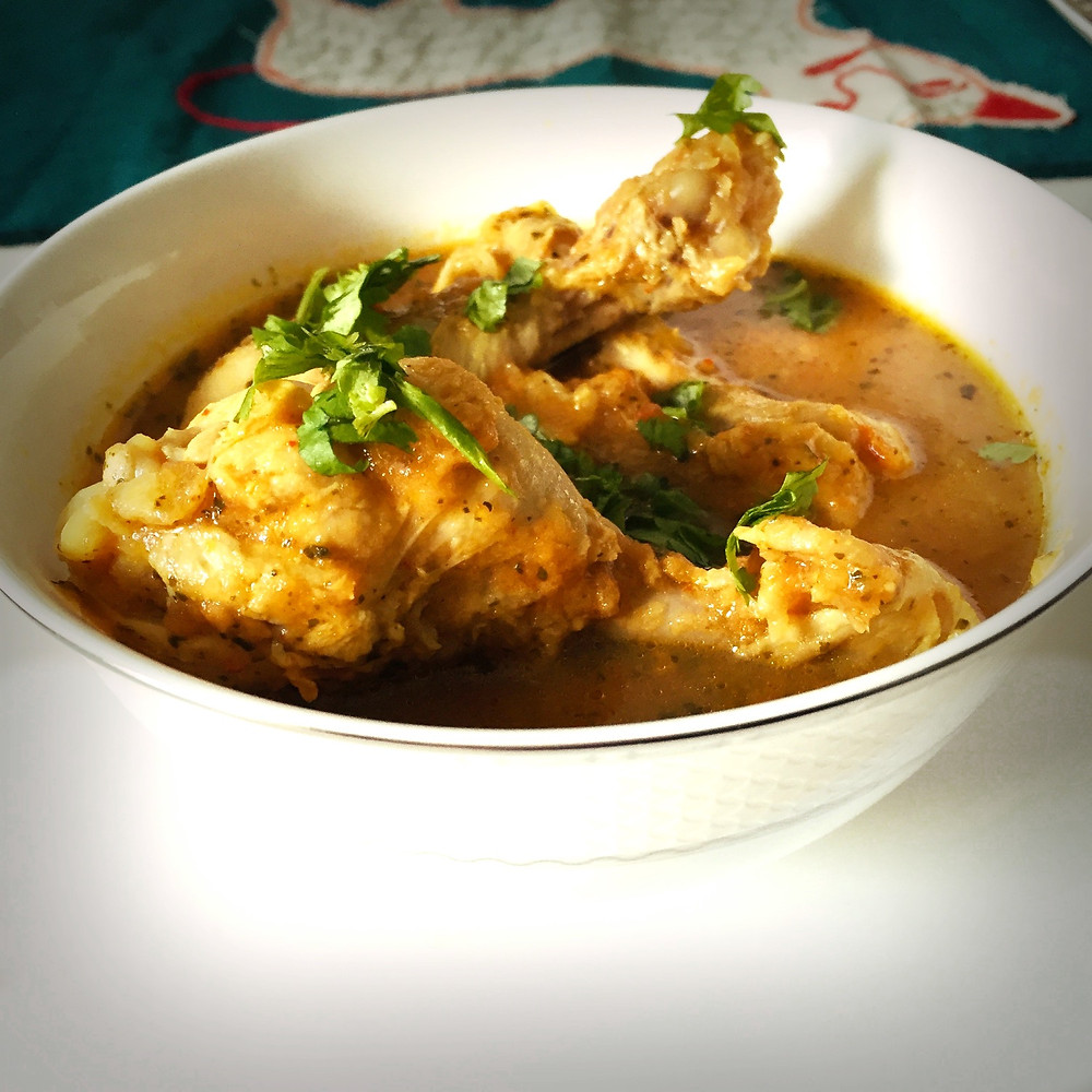 Chicken curry, Indian
