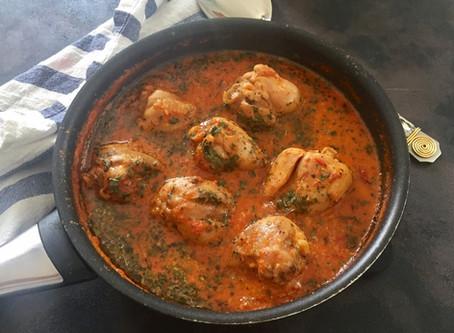 Tomato Chicken - A Mid-week Dinner treat