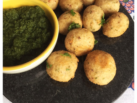 Rice Fritters/Pakoras (Chawal ke Pakode)