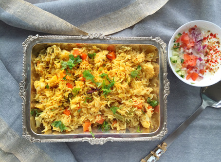 Spiced Vegetable Pulao