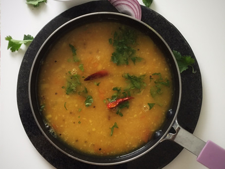 Tadka Dal (Tempered Yellow Lentils)