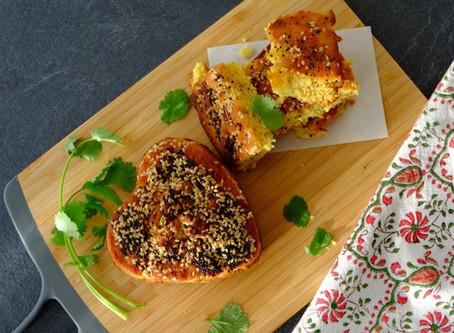 Savory Lentil Cake - Handvo