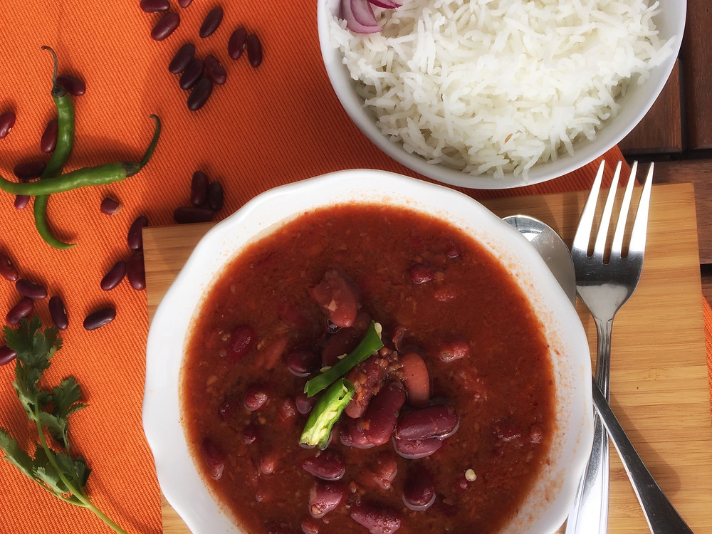 Rajma Masala, Kidney bean curry