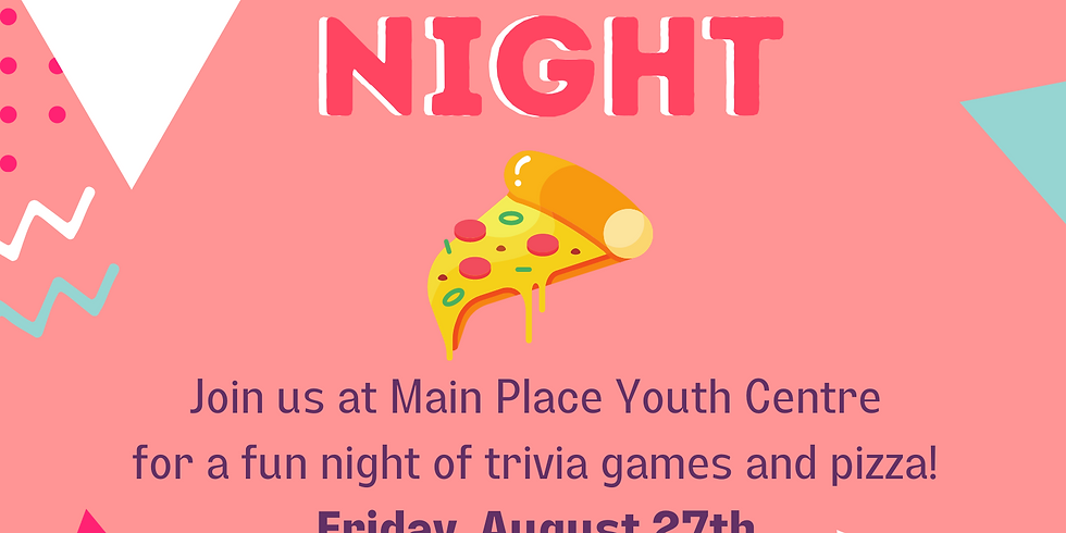 Pizza and Trivia Night!