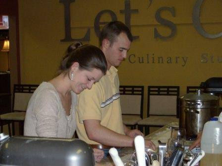 Couples Cooking  Class June 21st