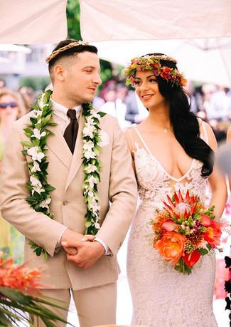 Hawaiian wedding!