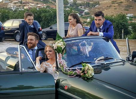 """Ο γάμος του Βαγγέλη Καντερέ, υιού του π. Βουλευτή Νίκου Καντερέ, στο """"Απέραντο Γαλάζιο"""""""