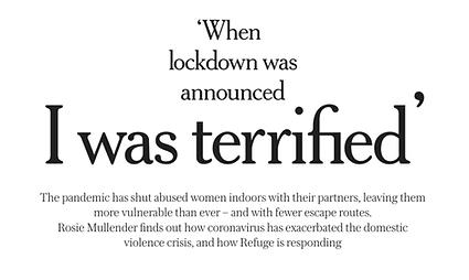 Feature headline