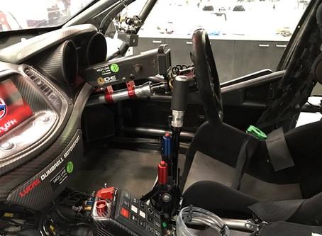 Resolving leg numbness in racing car drivers